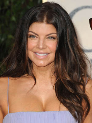 Fergie at the 2010 Golden Globes