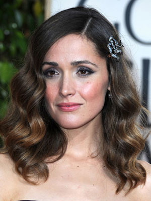 Rose Byrne at the 2010 Golden Globe Awards