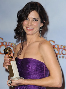 Sandra Bullock Is the 2010 Golden Globe Winner For Best Dramatic Actress 2010-01-17 19:40:44