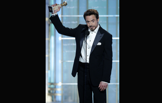 Robert Downey Jr. Brings the Laughs