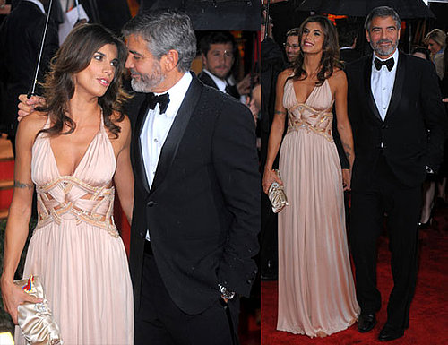 George Clooney and Elisabetta Canalis at the 2010 Golden Globes 2010-01-17 16:39:34