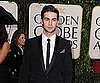 Slide Photo of Chace Crawford at Golden Globe Awards