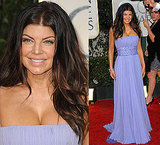 Fergie in Elie Saab at the 2010 Golden Globe Awards