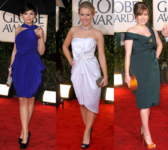 2010 Golden Globes Trend: Short and Sweet