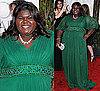 Gabourey Sidibe in Kevan Hall at 2010 Golden Globes Awards