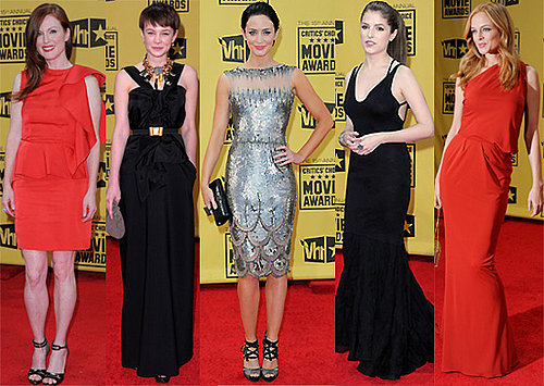 Red Carpet, Show and Backstage Photo Galleries and List of Winners from the 2010 Critics Choice Awards in Los Angeles