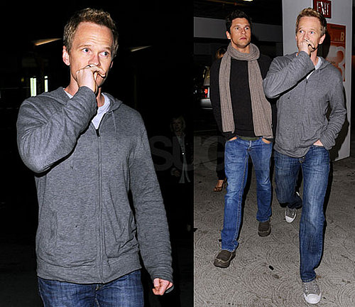 Photos of Neil Patrick Harris Out on a Movie Date With David Burtka in LA