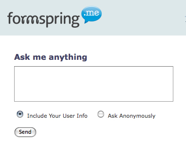 What Is Formspring.me?