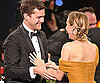 Slide Photo of Diane Kruger Winning SAG Award