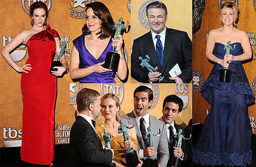 Photos From the 2010 SAG Awards Press Room 2010-01-26 14:05:25