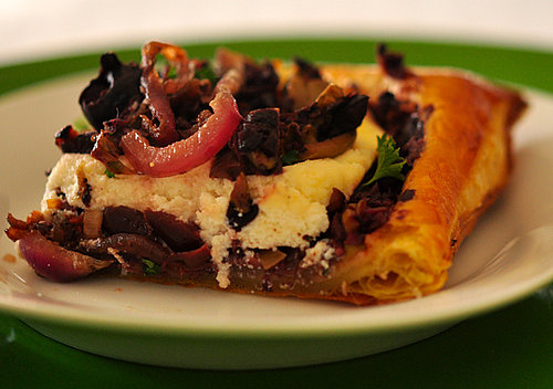 Dine on a Delectable Olive Tapenade Tart