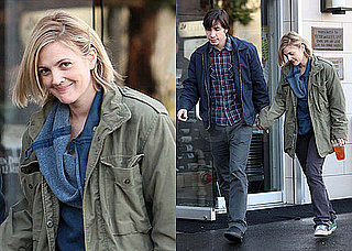 Drew Barrymore and Justin Long Photos After the Golden Globes