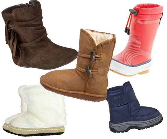 Cute Warm Boots for Young Kids