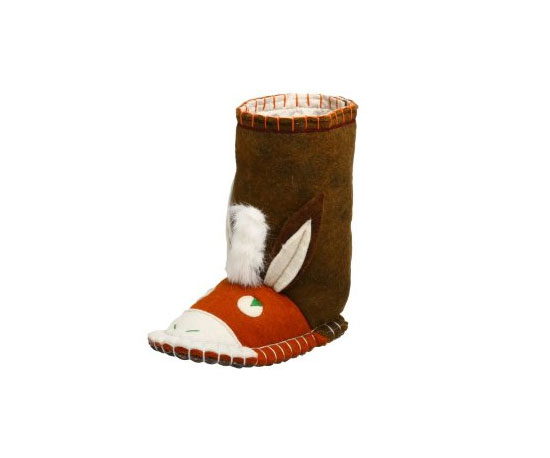Woolenstocks Toddler Donkey Woogo Slipper Boot