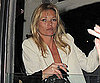 Slide Photo of Kate Moss Returning Home to London From Her Birthday Vacation
