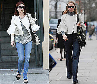 Stella McCartney and Kate Walsh Wear Same Stella McCartney Balloon-Sleeve Jacket