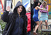Photos of Courteney Cox and Busy Philipps Fighting in the Rain on Cougar Town