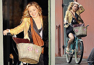Photos of Kate Hudson Filming Earthbound Before the SAG Awards