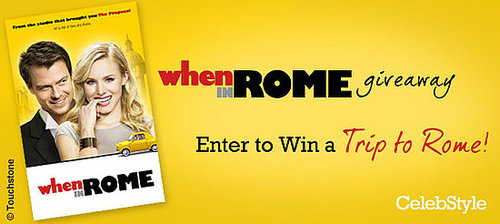 Win a Trip to Rome with the When in Rome Giveaway