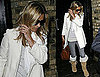 Photos of Kate Moss Leaving Her London Home With a Possible Engagement Ring