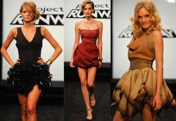 Project Runway Season 7 Burlap/Potato Sack Challenge