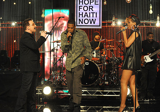 Bono,Jay-Z and Rihanna