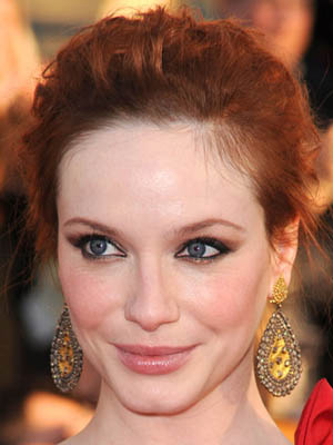 Christina Hendricks at 2010 SAG Awards 2010-01-23 16:46:45