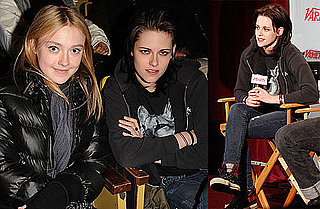Photos of Kristen Stewart and Dakota Fanning at Sundance Welcome to the Rileys Premiere
