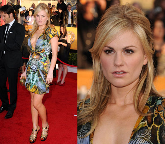 Anna Paquin Wearing Alexander McQueen at 2010 SAG Awards 2010-01-23 17:33:22