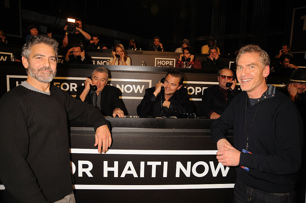 Photos of All the Stars at George Clooney's Hope for Haiti Telethon