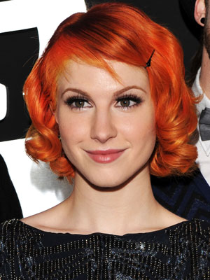 Hayley Williams at Grammys