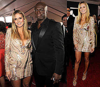 Heidi Is Busting Out With Seal at the Grammys