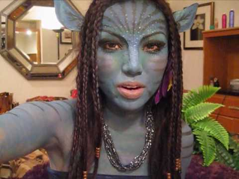 Avatar Navi Makeup Tutorial