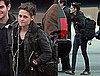 Photos of Kristen Stewart Landing in LA After Debuting The Runaways at 2010 Sundance Film Festival