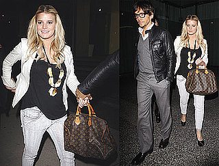 Photos of Jessica Simpson and Ken Paves at Dinner
