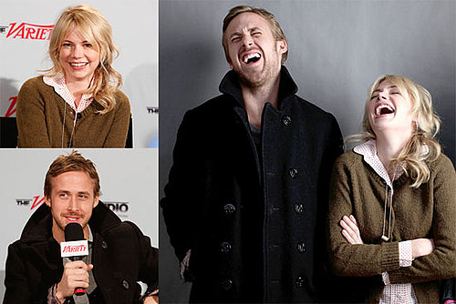 Photos of Ryan Gosling and Michelle Williams Promoting Blue Valentine at Sundance