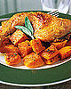Easy Roast Chicken With Butternut Squash Recipe