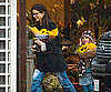Slide Photo of Sandra Bullock and Sunny James in Rainy LA