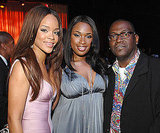 Rihanna, Jennifer Hudson and Randy Jackson were together in 2007.