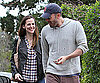Slide Photo of Ben Affleck and Jennifer Garner Smiling in LA