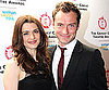 Slide Photo of Jude Law and Rachel Weisz at the Annual Critics Circle Theater Awards in London