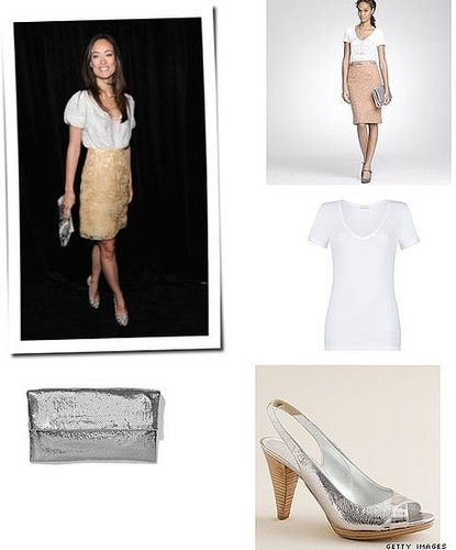 Olivia Wilde look for less