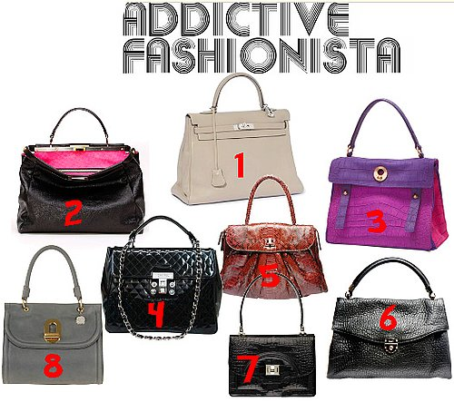 If you can't afford the Hermes Kelly bag here are you're options ..