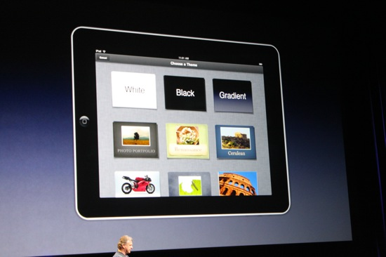 A Look Back at the Apple iPad Presentation