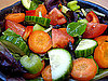 Slow Down Eating and Fill Up With Chunky Veggies in Your Salad