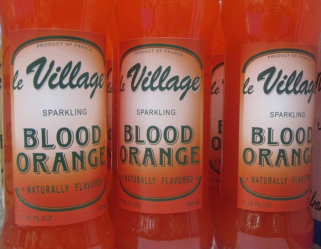 Blood Orange Juice Sodas