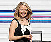 Slide Photo of Dianna Agron On Glee Set