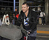 Slide Photo of Sam Worthington Leaving LAX
