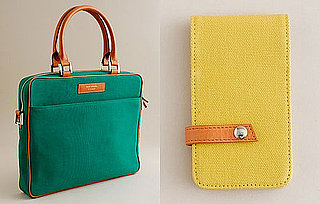 J Crew Organic Laptop Cases and iPhone Wallets