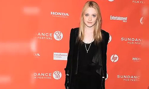 FabTV: Dakota Fanning Rocks Black on Black at Sundance